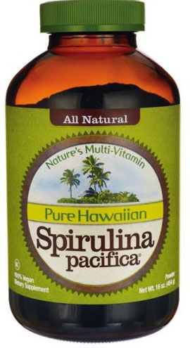 SPIRULINA PAC POWDER 16OZ