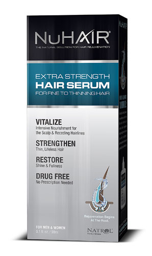 NU HAIR SERUM (HAIR GROWTH)  3 OZ