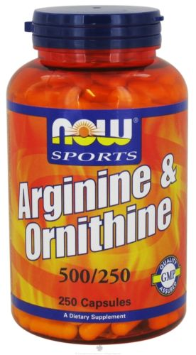 Arginine & Ornithine 500/250mg - 250 Caps