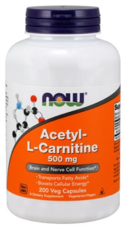 ACETYL-L CARNITINE 500 MG - 200 CAPS