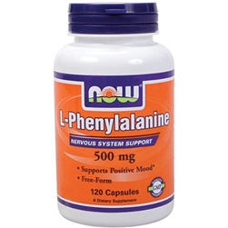 L-Phenylalanine 500 mg - 120 Caps