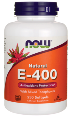 VITAMIN E-400 IU MT - 250 SOFTGELS