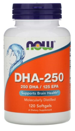 DHA-250 MG- 120 Softgels