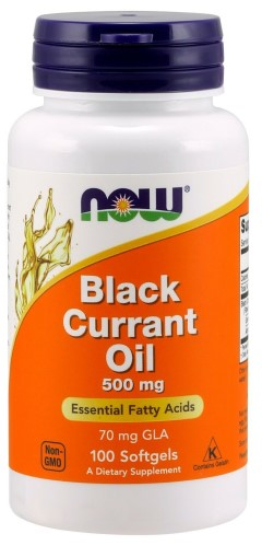 BLACK CURRANT OIL 70MG  100 SGELS