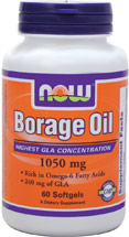 BORAGE OIL 1000 Mg -240 MG GLA  60 GELS
