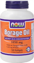 BORAGE OIL 1050MG  120 GELS