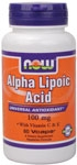 ALPHA LIPOIC ACID 100MG + VIT E,C - 60 CAPS