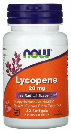Double Strength Lycopene 20 mg - 50 Softgels