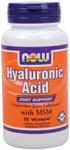 HYALURONIC ACID WITH LIGNIS MSM - 60 VCAPS
