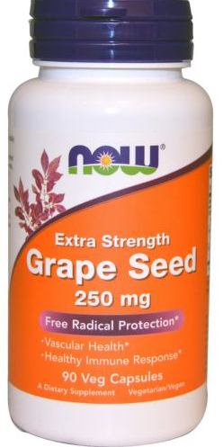 EXTRA STRENGTH GRAPE SEED 90 CAPS