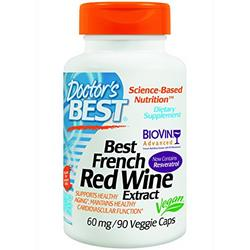 BEST FRENCH RED WINE EXTRACT (60MG)  90VC