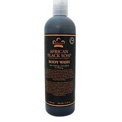 Body Wash African Black Soap  13 oz