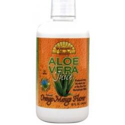 ORGANIC ALOE VERA JUICE ORANGE-MANGO FLAVOR  32 OZ