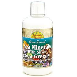 SEA MINERALS W/SILVER & SEA GREENS  32 OZ