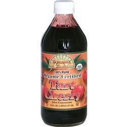 100% PURE ORGANIC CERTIFIED TART CHERRY JUICE CONCENTRATE  16 OZ