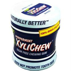 XYLICHEW GUM PEPPERMINT JAR  60 CT