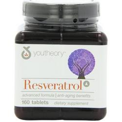 RESVERATROL ADVANCED  160 TAB