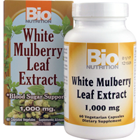 WHITE MULBERRY LEAF EXTRACT  60 CAP VEGI