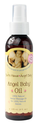 ANGEL BABY OIL  4 OZ