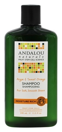 ARGAN MOISTURE RICH SHAMPOO & SWEET ORANGE  11.5 OZ