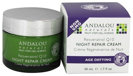 RESVERATROL Q10 NIGHT REPAIR CREAM  1.7 OZ