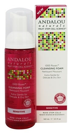1000 ROSES CLEANSING FOAM  5.5 OZ