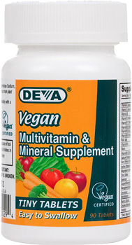 VEGAN VITAMINS,VEGAN TINY TAB MULTIVIT  1/90 TAB